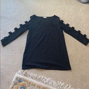 Tobi black long sleeve dress. Size: S